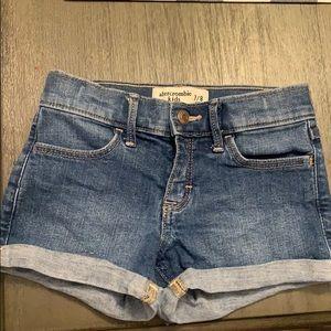 Girls Abercrombie shorts